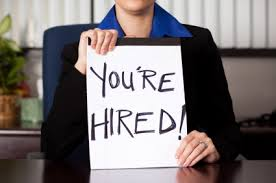 You are hired