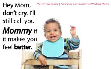bye Bye Baby - baby growing up