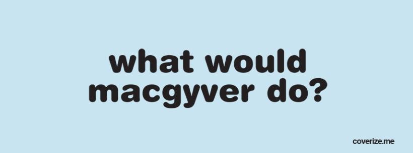 McGyver Diaper