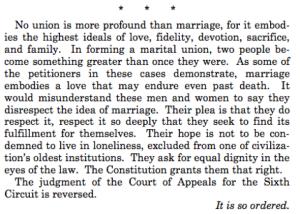 Kennedy gay marriage